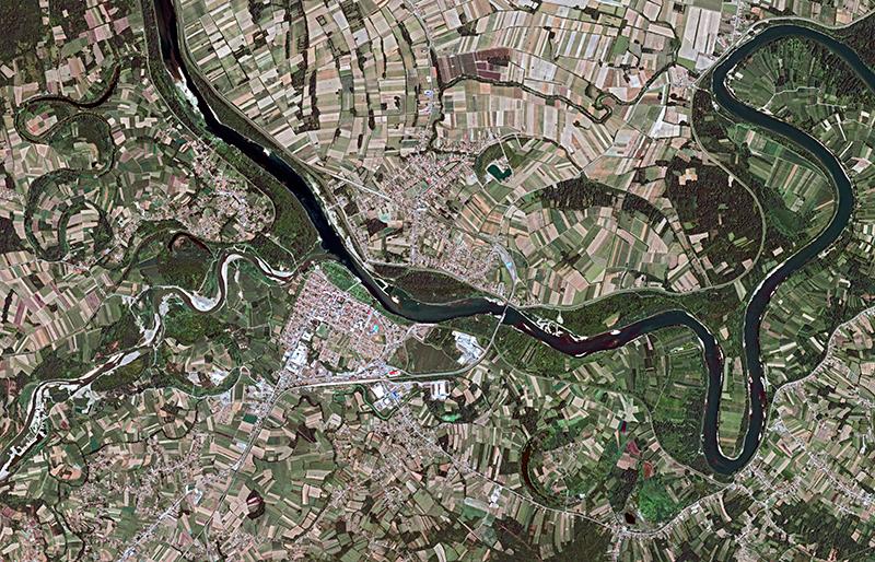 Banjir Balkan dari Citra Satelit
