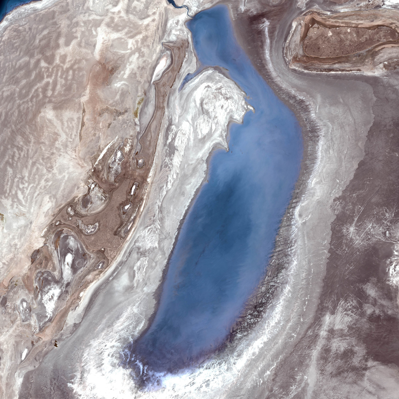 DMC Constellation Satellite Image, Aral Sea