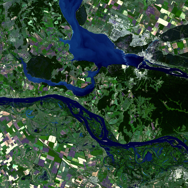 DMC Constellation Satellite Image - Samara, Russia