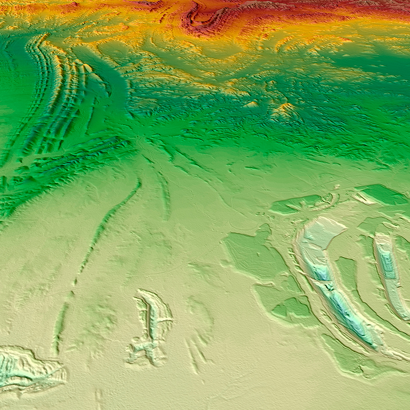WorldDEM™ Digital Surface Model - Leigh Creek Coal Mine, Australia