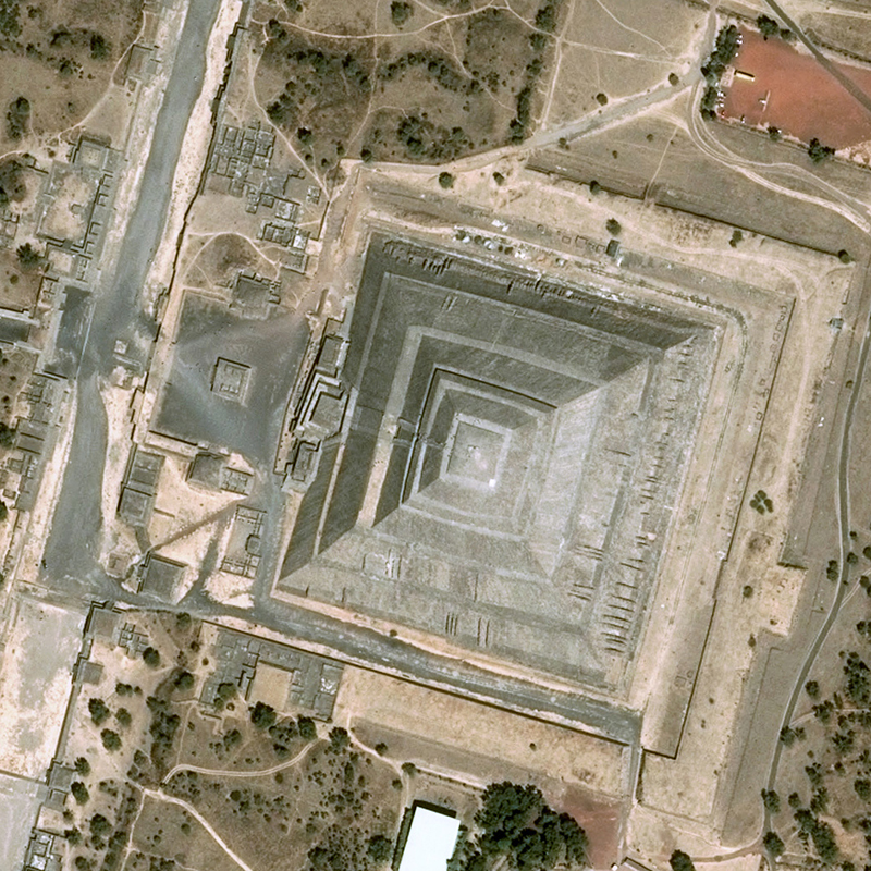 Pléiades Satellite Image - Teotihuacan, Mexico
