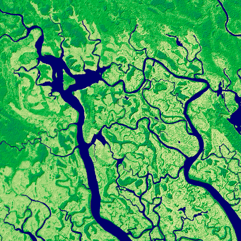Elevation10 - Niger River Delta, Nigeria