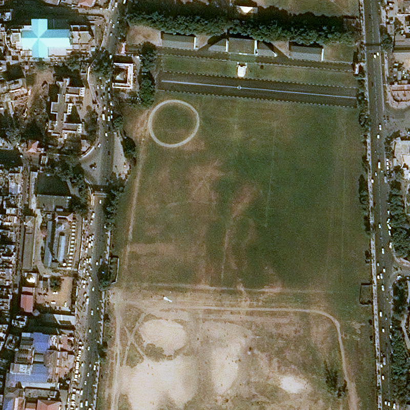 Pléiades Satellite Image - Kathmandu - November, 29th 2014