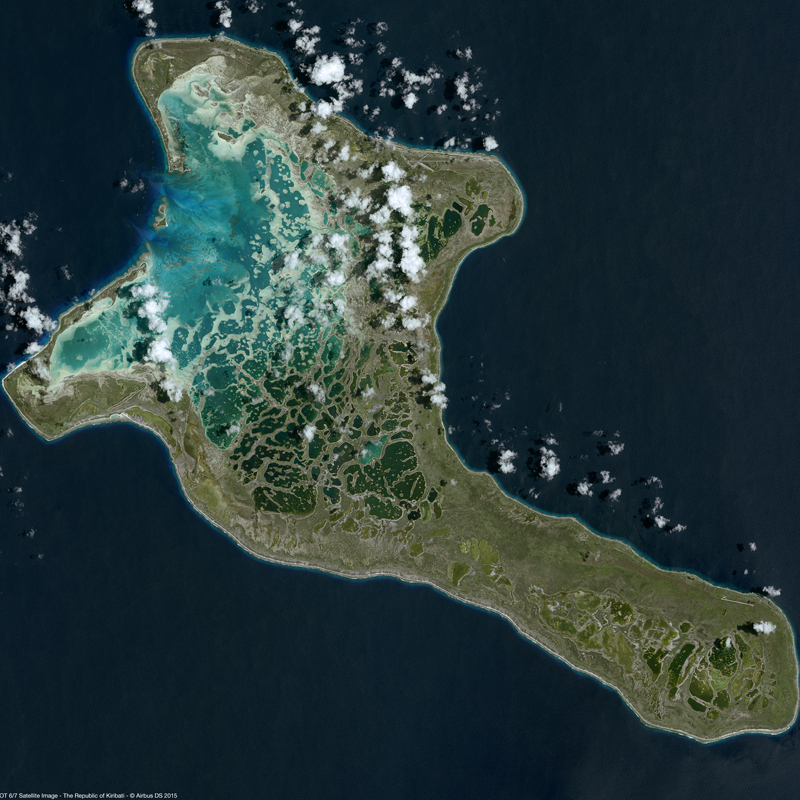 SPOT 6/7 Satellite Image - The Republic of Kiribati
