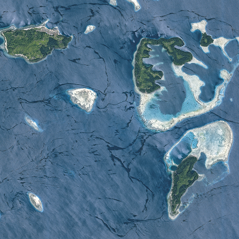 (06) June - Pléiades Satellite Image - Raja Ampat, Indonesia