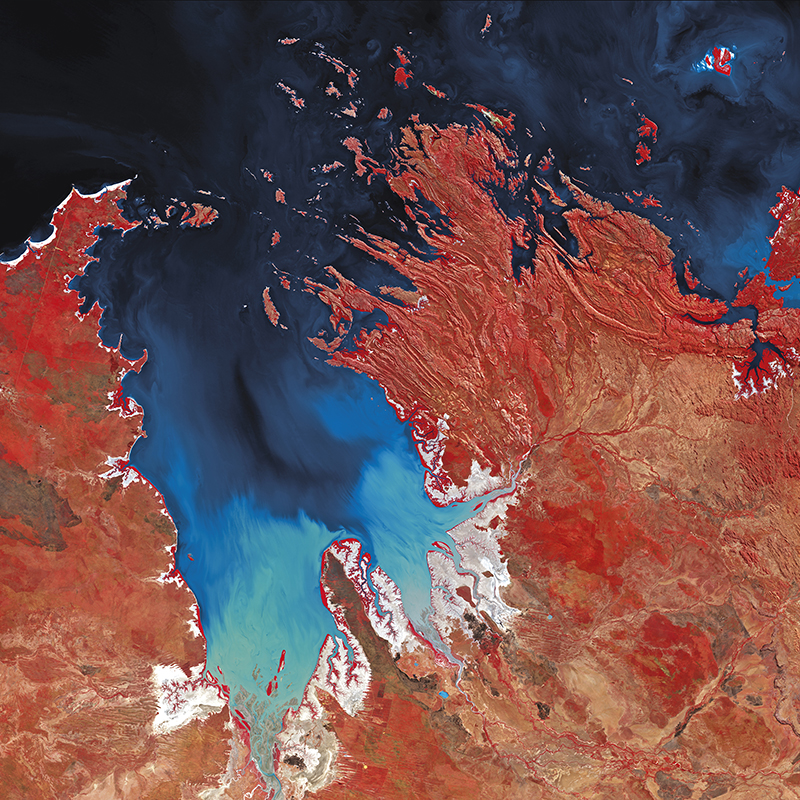 DMC Constellation Satellite Image - Kimberley, Australia