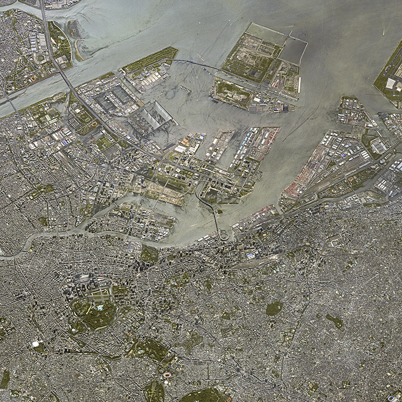 KazEOSat-1 Satellitenbild: Tokio, Japan