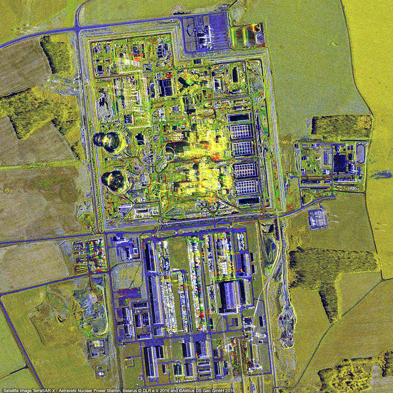 TerraSAR-X Satellite Image – Astravets Nuclear Power Station
