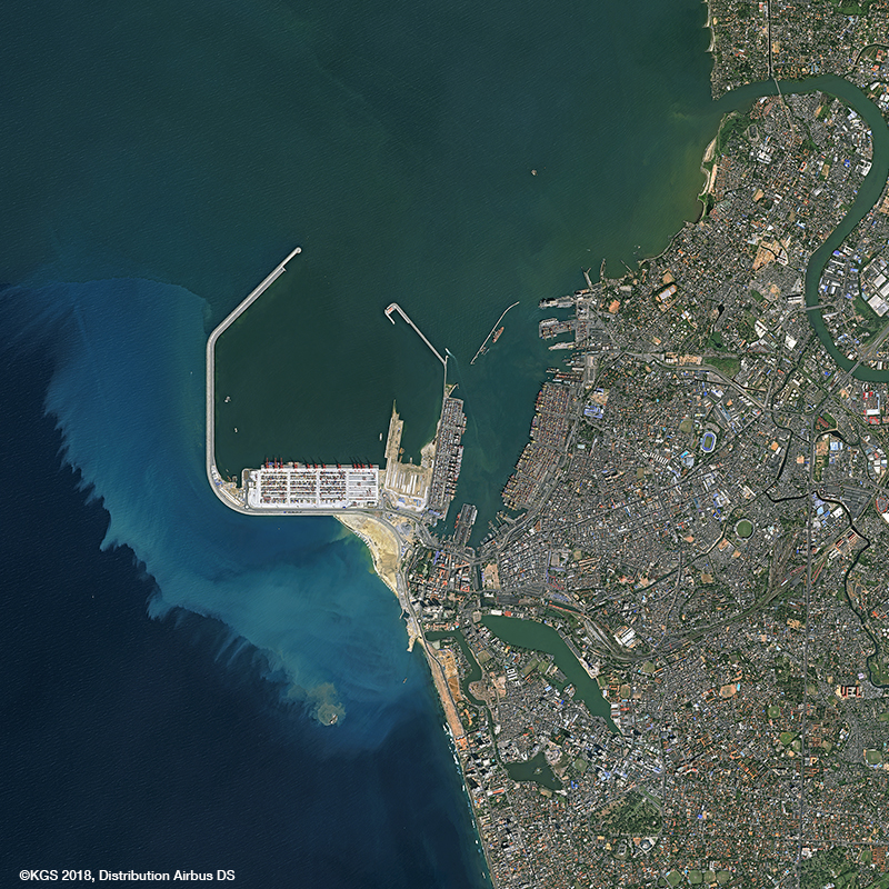 KazEOSat-1 Satellite Image - Colombo, Sri Lanka