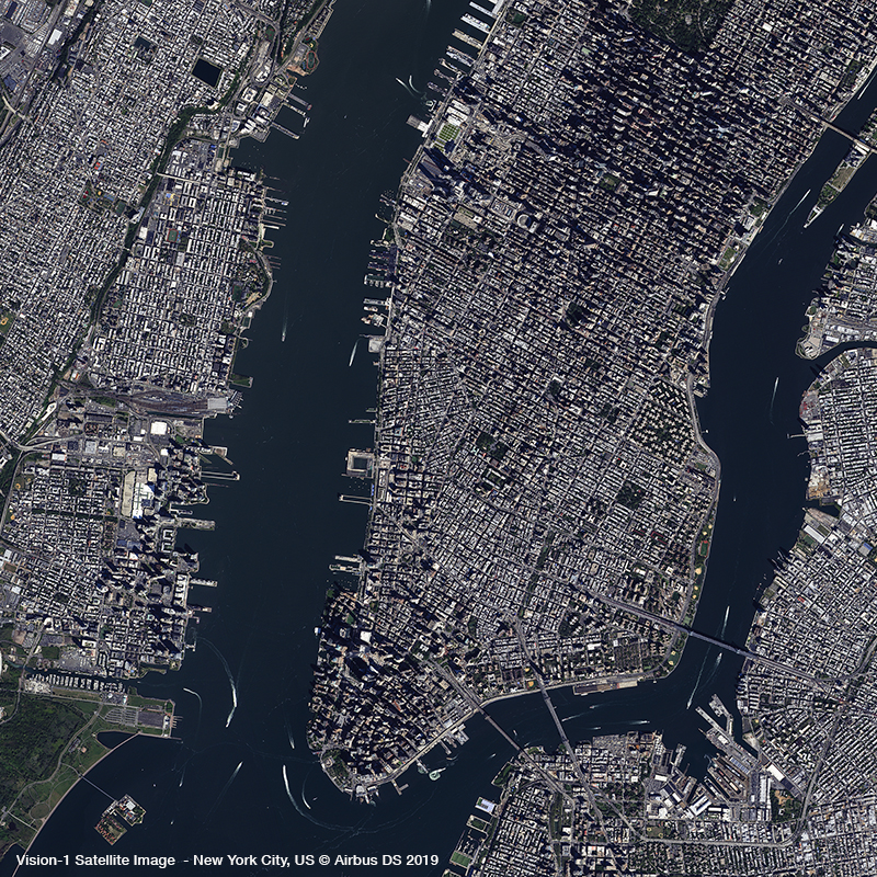 Vision-1 Satellite Image - New York City, USA