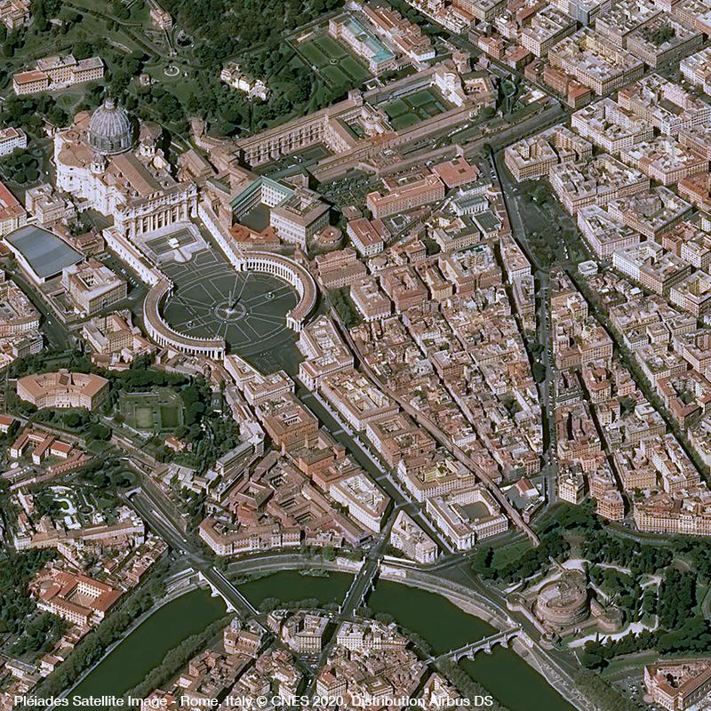 Pléiades Satellite Image - Rome