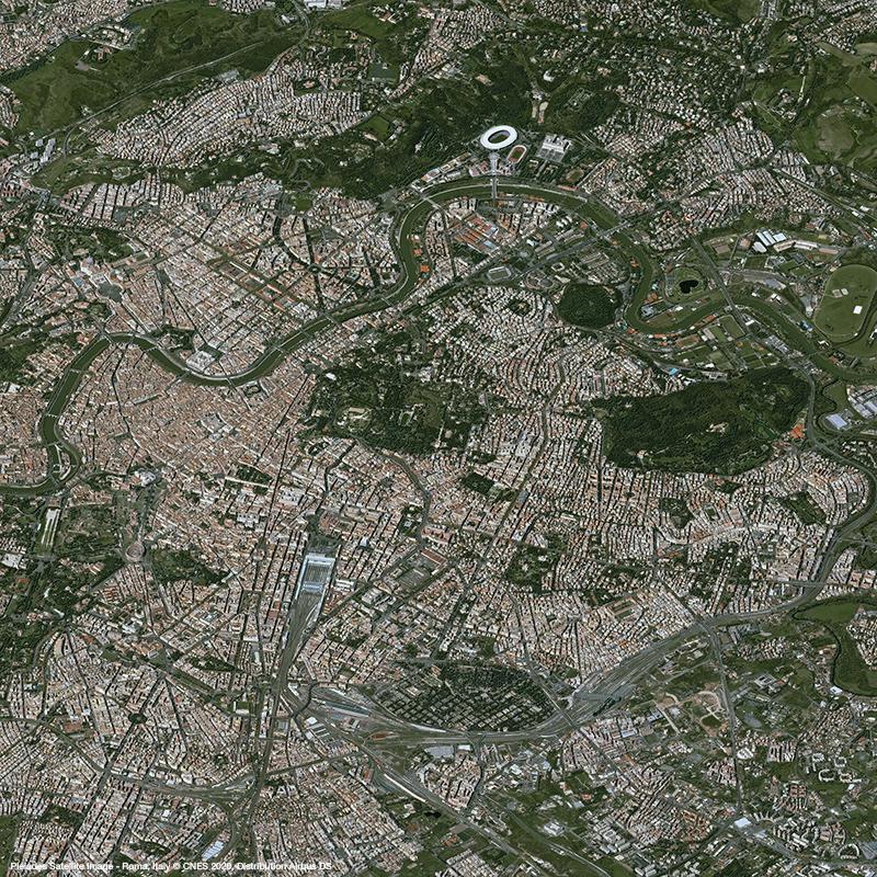 Pléiades - St Peter's Square, Vatican