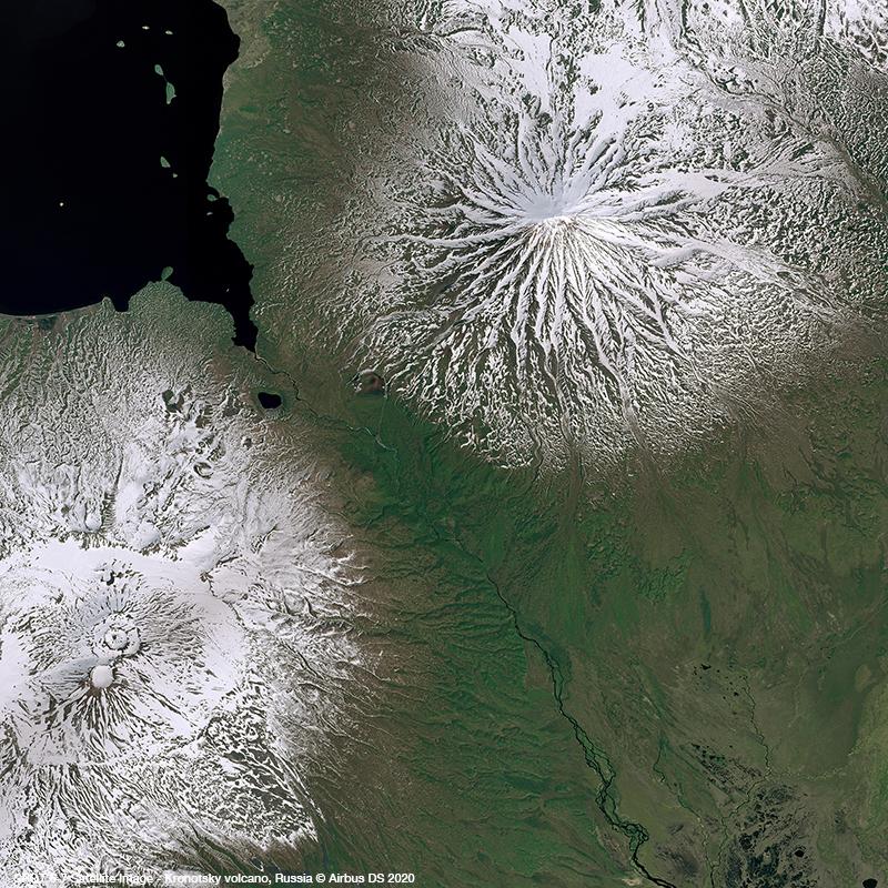 SPOT 6/7 - Kronotsky volcano, Russia