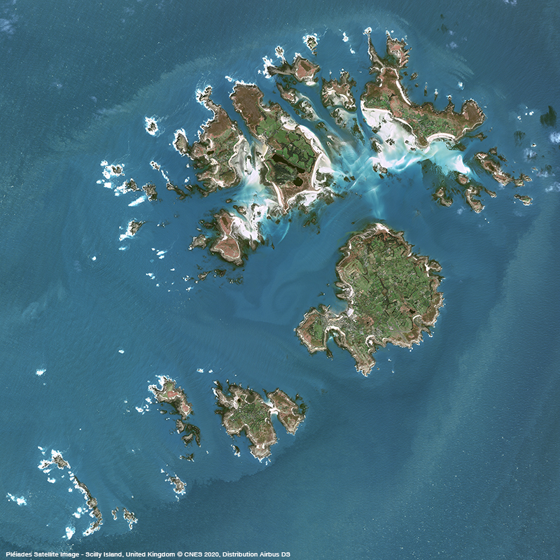 Pléiades - Scilly Island, United Kingdom