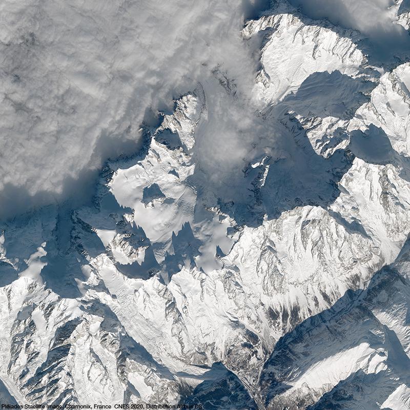 Pléiades - Mont Blanc Glacier, Chamonix