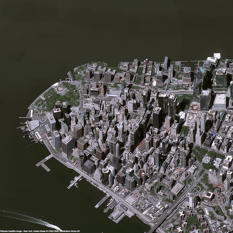 Pléiades - New York City