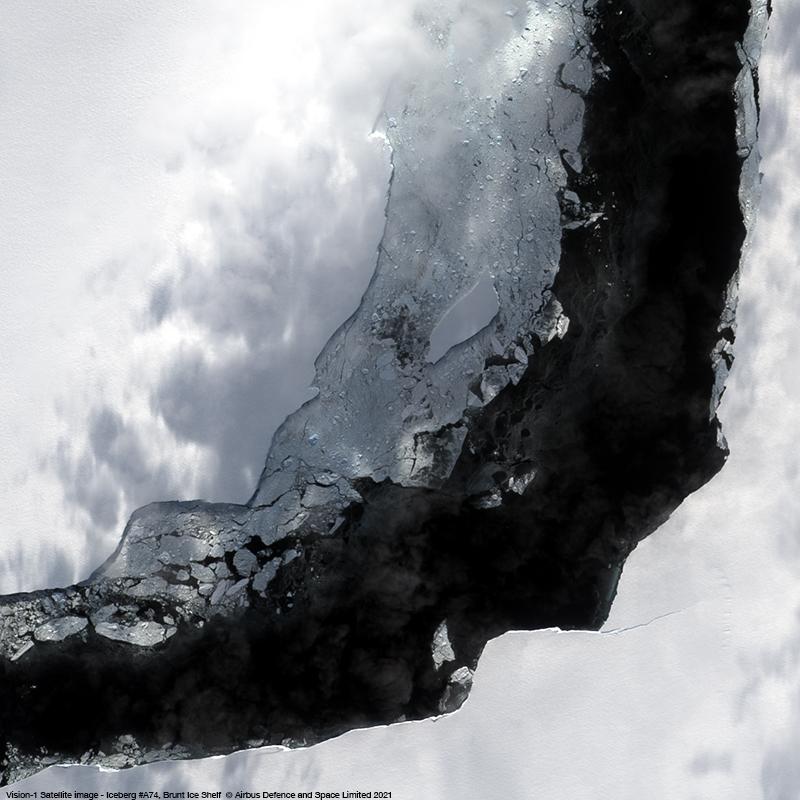 Vision-1 - Iceberg #A74, Brunt Ice Shelf