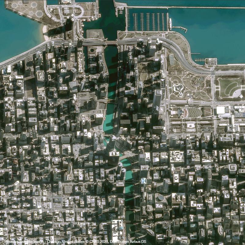 Pléiades - Chicago - Saint Patrick's Day