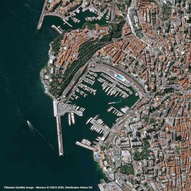 Pléiades - Monaco Formula 1 Grand Prix