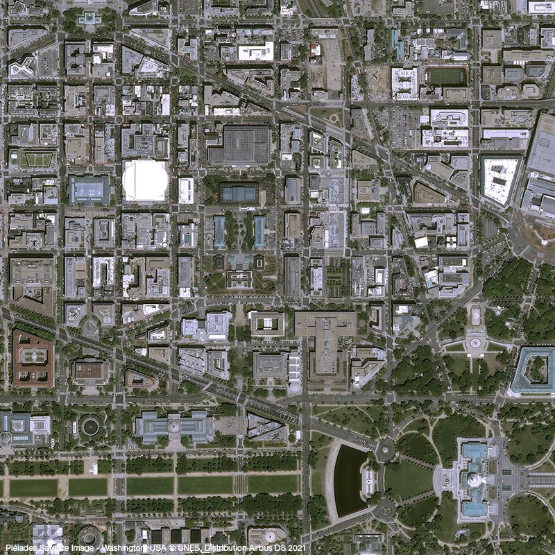 Pléiades - Washington, USA, City