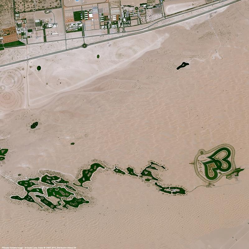 Pléiades - Al Qudra Lake, Dubai
