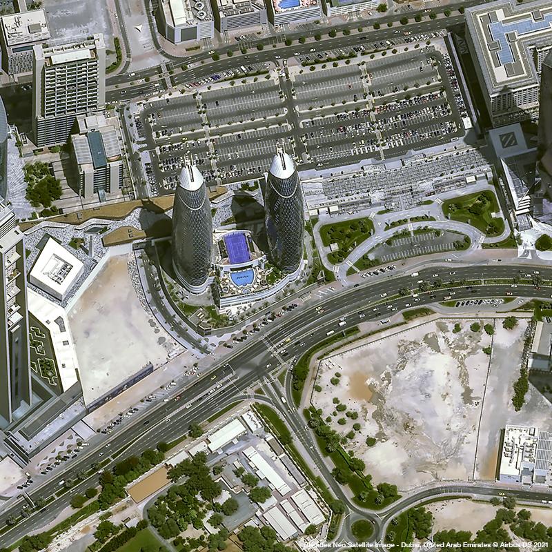 Pléiades Neo - Dubai, United Arab Emirates
