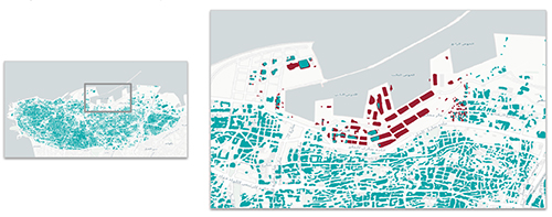 Orbital Insight Image - Beirut