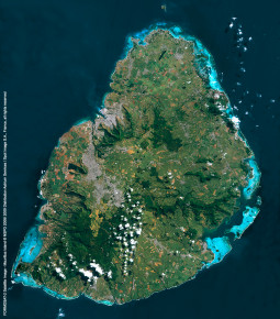 FORMOSAT-2 Satellite Image - Mauritius Island
