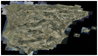 SPOTMaps mosaic of Spain