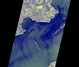 Oil Spill Detection after a tanker accident in the Straight of Kerch, Ukraine, based on TerraSAR-X StripMap data