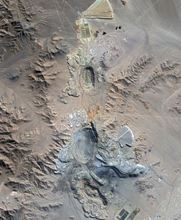 FORMOSAT-2 satellite image - Chuquicamata Chili