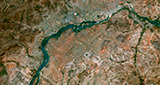 SPOT 6 Satellite Image - Bamako, Mali © 2013 Astrium Services