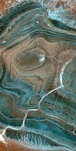 SPOT5 Satellite Image - Tamanrasset, Algeria