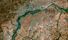 SPOT 6 Satellite Image - Bamako, Mali