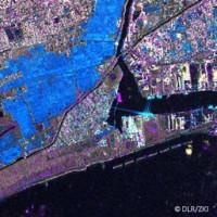 Imagen satellital Radar TerraSAR-X, Japon (extracto)