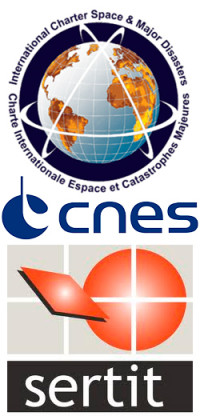 International Charter / CNES / SERTIT