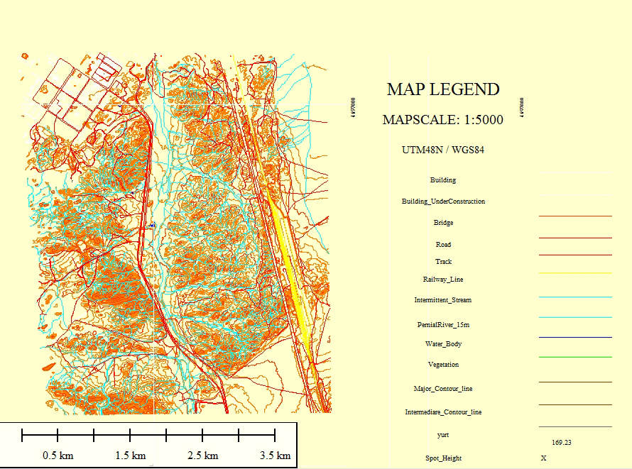 Creating 15000 Topographic Maps in Mongolia using our Satellite