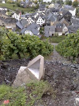 Vineyard site near Graach, Germany