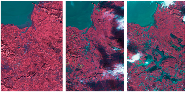 DMC Satellite Images - UK floods 2013-2014 - UK-DMC2 Images ©