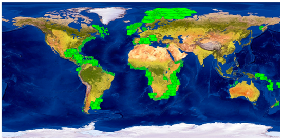 Global Offshore Seeps Database - new scenes added from 2013 - 2014