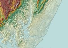 WorldDEM For africa - Sample preview
