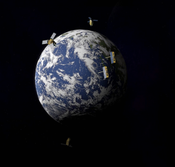Satellites illustration