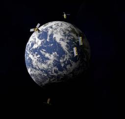 Satellites illustration