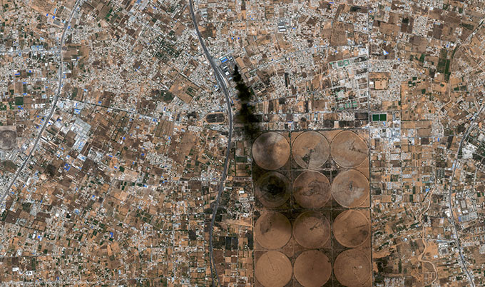 Satellite Image Pléiades, Tripoli, Libya, 2014
