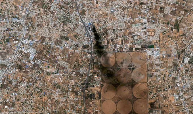 Satellite Image Pléiades, Tripoli, Libya, 2014