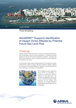 Case Study - Sea level rise - image