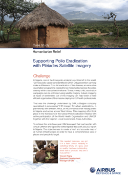 Case Study - Humanitarian Polio Radication - image
