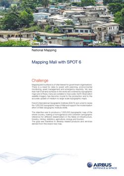 Case Study - Mapping SPOT6 - Mali - image