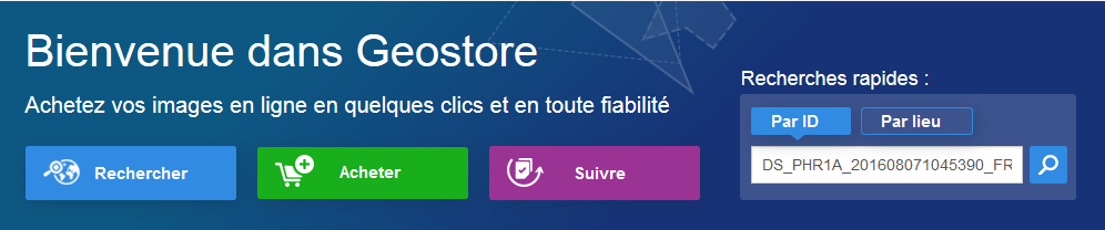 Welcome to Geostore - FR