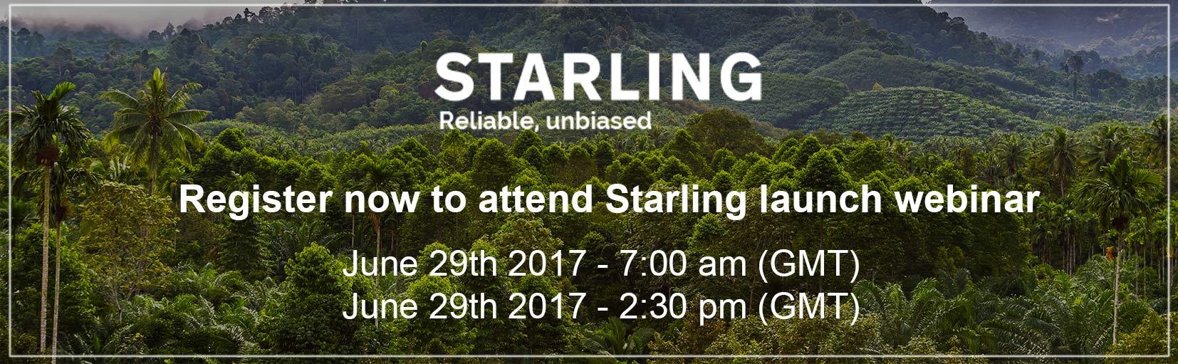 Banner - Register to Starling Webinar
